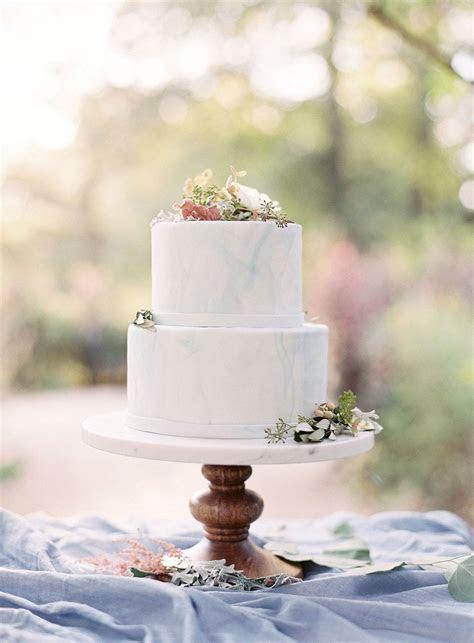 Marble Inspired Fondant Wedding Cake   CAKES   Wedding