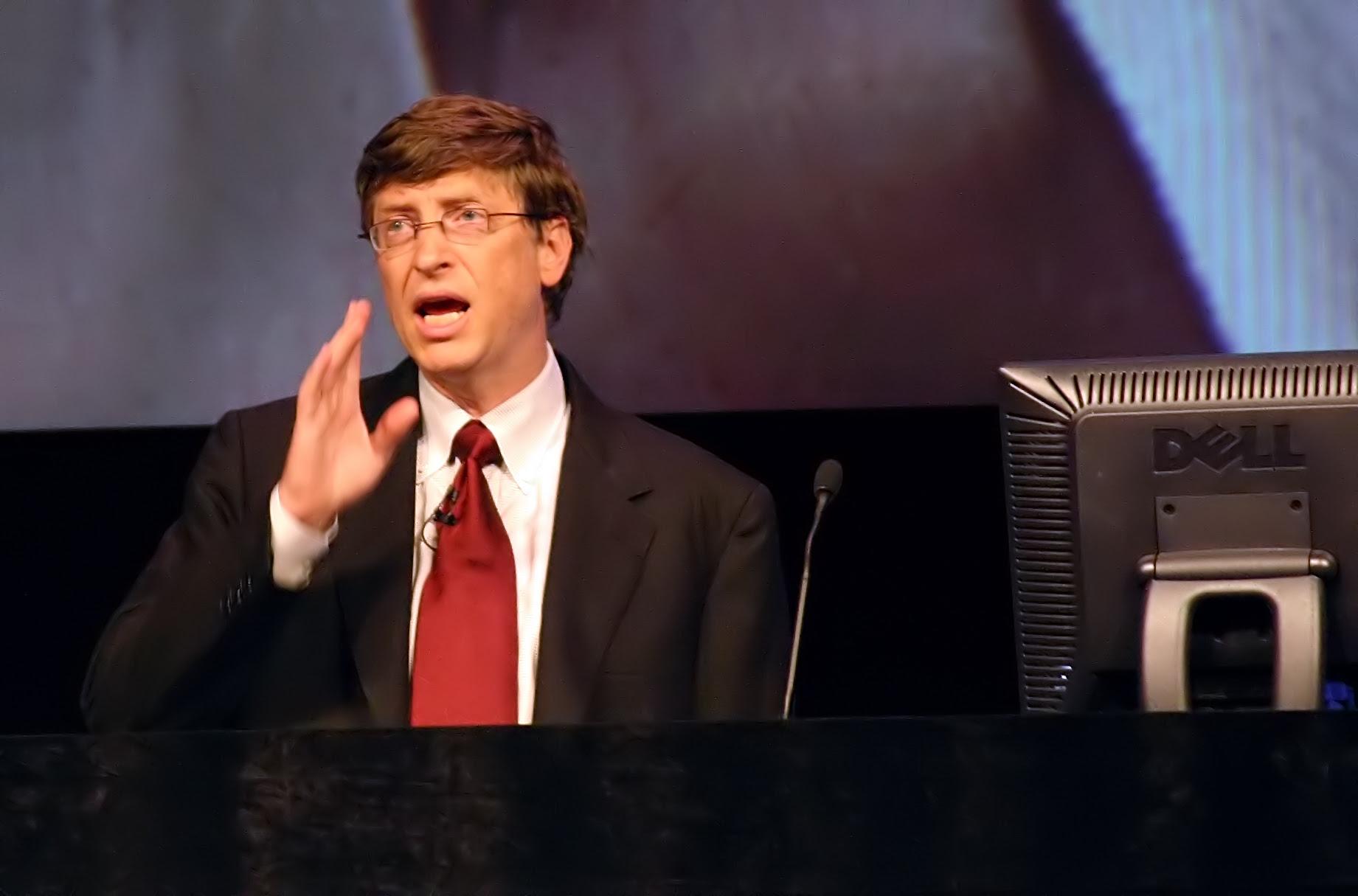 Bill Gates, famoso empresario de Microsoft