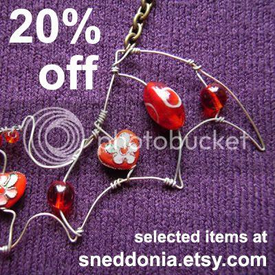 Sale at Sneddonia Designs