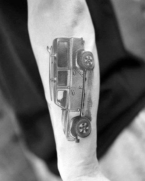 Jeep Guys Tattoo Designs