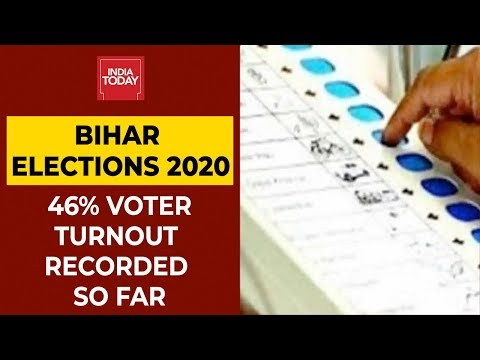 Bihar Elections 2020: 46 Per Cent Voter Turnout Recorded Till 3 PM In First Phase | India Today