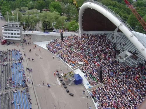 A Singing Field of Tallinn (Estonia)