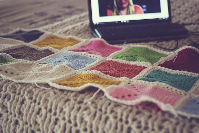 { Lazy Sunday crochet and a cool new website for online tv shows }