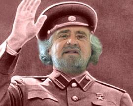 Grillo in versione Stalin