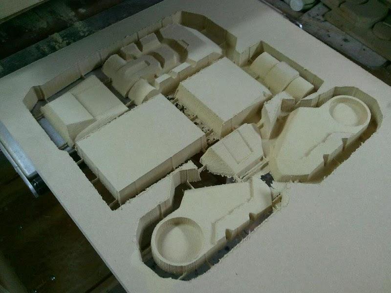 Toe Parts Cut Out