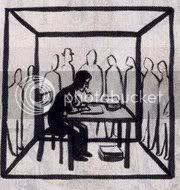Simenon Cage au verre