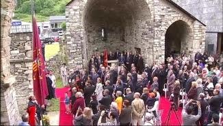 Acte commemoratiu de la reinstauració del Conselh Generau d'Aran