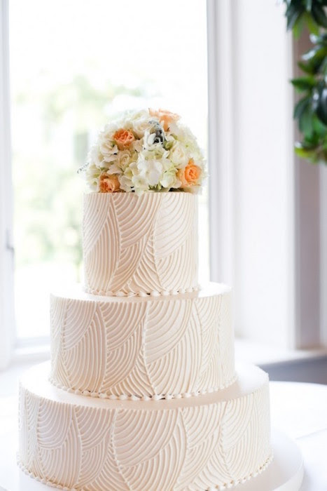 Wedding Trends: The Textured Cake