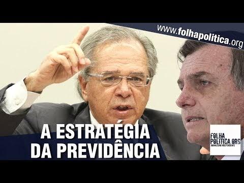 Bolsonaro explica como está usando estratégia militar para aprovar a Reforma da Previdência