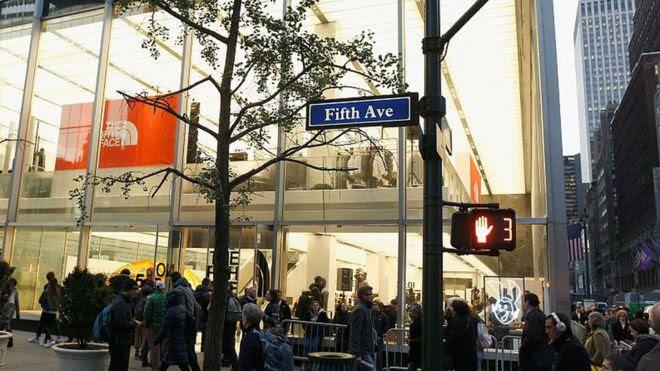 La Quinta Avenida es el epicentro de las compras en Nueva York.