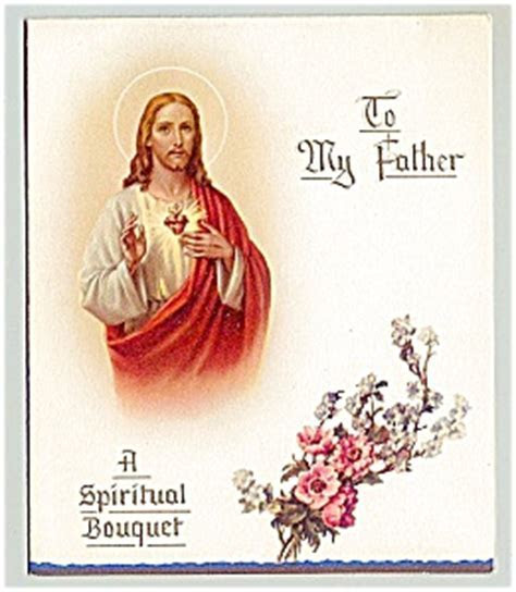 Catholic   Spiritual Bouquet for Father (Father's Day) at