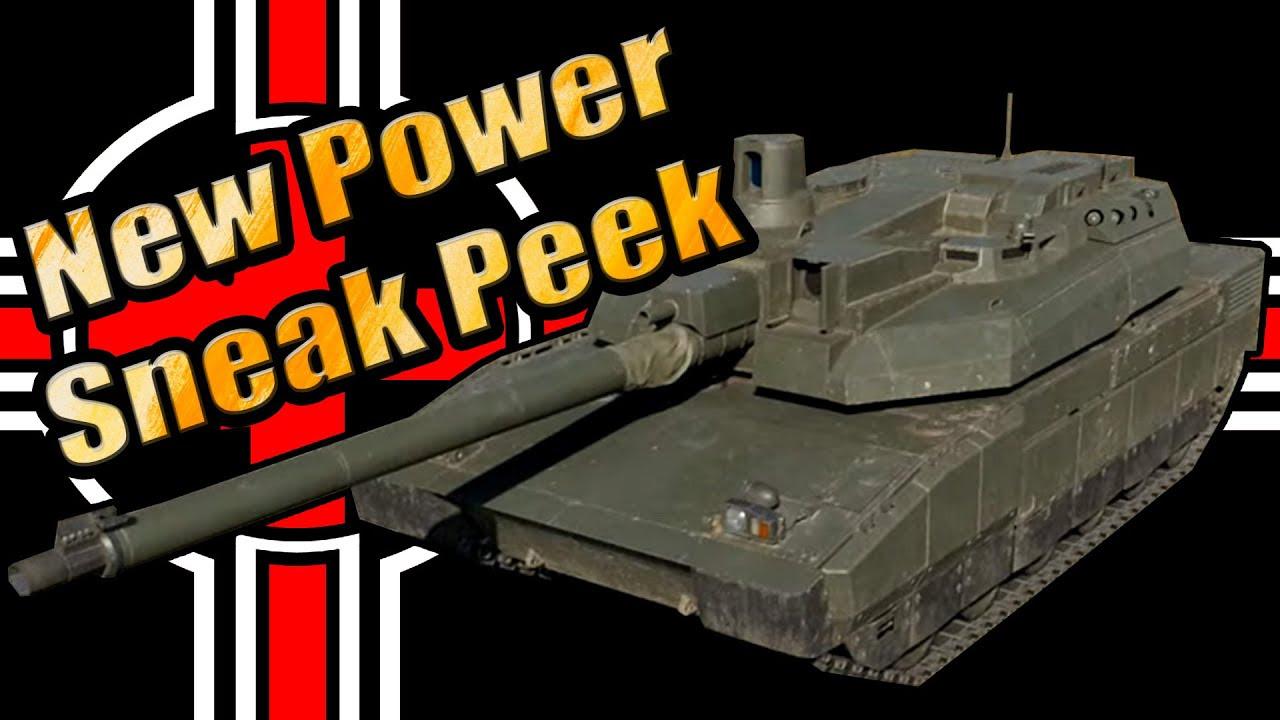 Update New Power Sneak Peek - English Stream - War Thunder