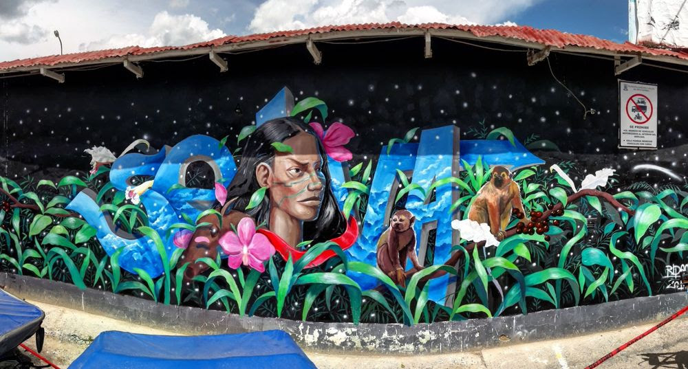 Festival Amazonarte Murales Con Identidad A La Vuelta De La Esquina