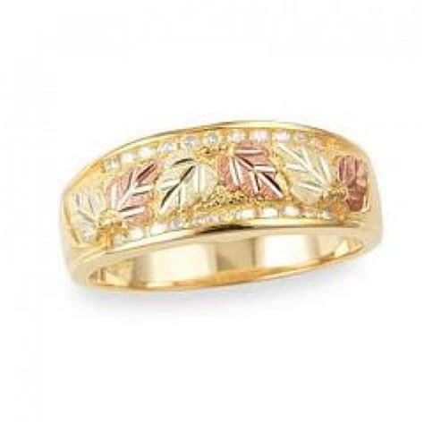 Black Hills Gold Jewelry   G41709D   Women's Gold Wedding