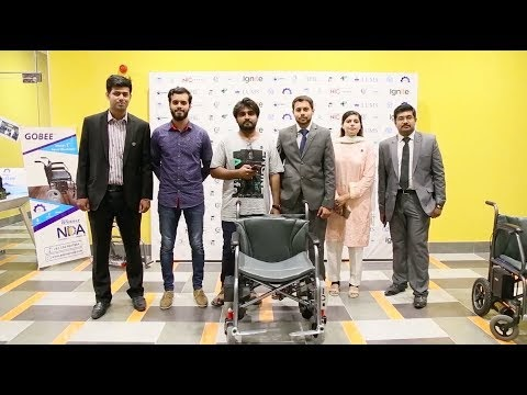 GOBEE Kursi Roda Listrik Pintar Pertama Buatan Mahasiswa Pakistan