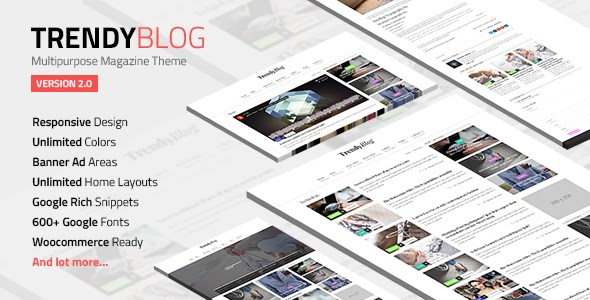 Download Free TrendyBlog v2.1.0 – Multipurpose Magazine Theme