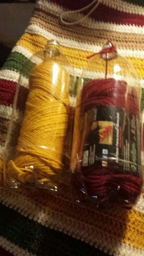 yarn   liter bottles diy crafts crafts diy