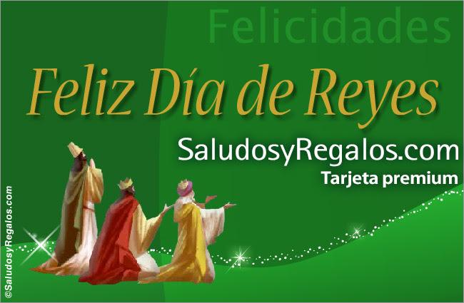 Feliz Du00eda de Reyes, Du00eda de Reyes, tarjeta digital