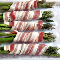 Grilled Asparagus Heads