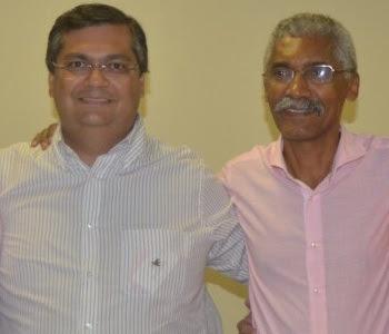 Flávio Dino e Domingos Dutra.