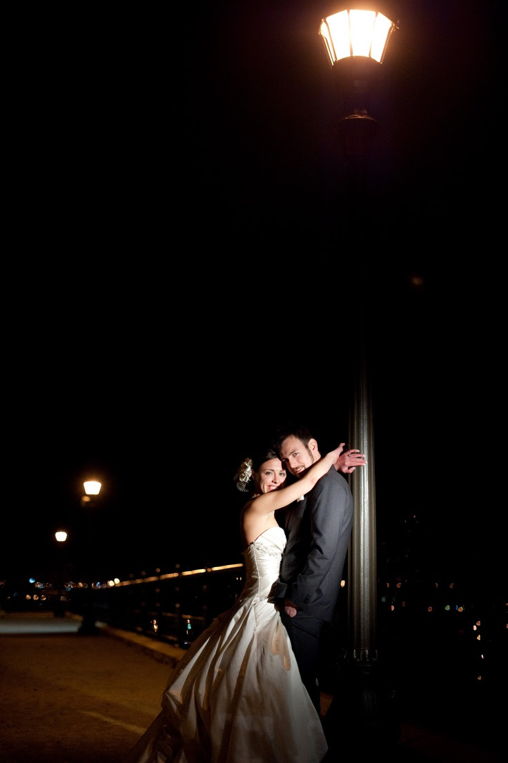 Lovely night shot Photo by Troy #Minnesota #weddings #Minnesotaweddingphotography