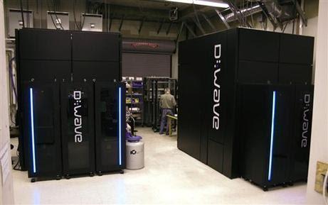 Οι υπολογιστές που πουλάει η D-Wave είναι γιγάντια, μαύρα κουτιά. Ορισμένοι πάντως αμφισβητούν ότι πρόκειται για πραγματικούς κβαντικούς υπολογιστές (Πηγή: D-Wave)