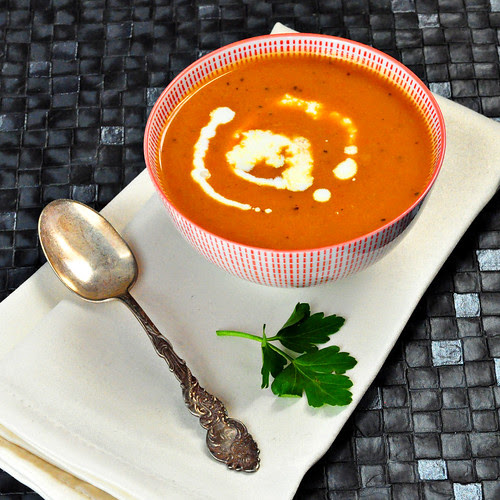 Curried Carrot and Ginger Soup 2