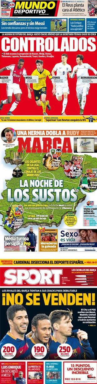 Capas Jornais Esportivos