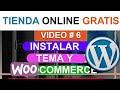 CURSO COMO CREAR UNA TIENDA ONLINE 2020 - Instalar Temas en Wordpress y ...