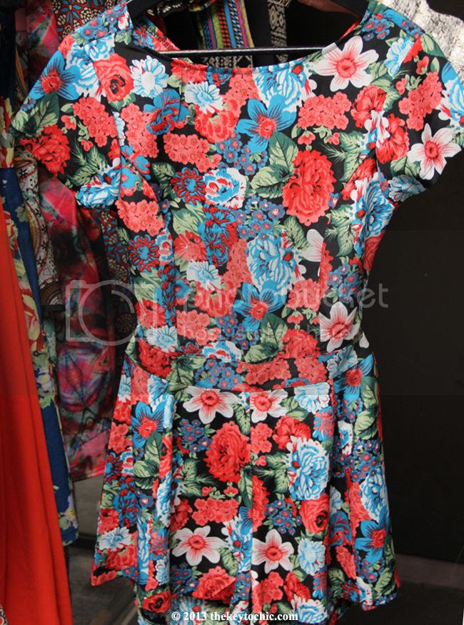 Boohoo Tea Party at Sur Lounge floral playsuit