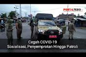 VIDEO: Cegah COVID-19 Dengan Sosialisasi, Penyemprotan Hingga Patroli