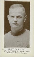 1923-24 v145-1 bert corbeau number 25 rookie card