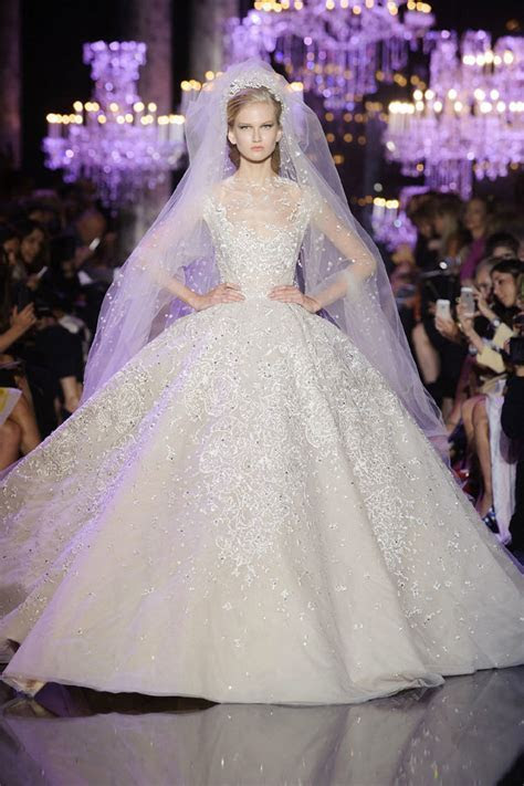 Elie Saab's Fall Winter 2014 Haute Couture Wedding Gown