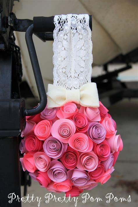 Wedding Decoration Paper Flower Kissing Balls Pomander