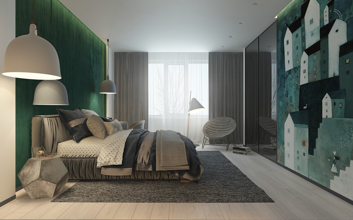 Green Bedroom Decorating Ideas For Teenager - RooHome ...