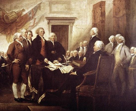 Die Unabhängigkeitserklärung