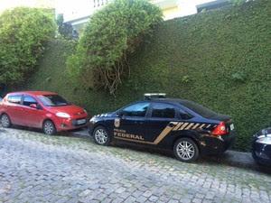 PF faz operação na casa de Luma de Oliveira, ex-mulher de Eike (Foto: Janaína Carvalho/G1)