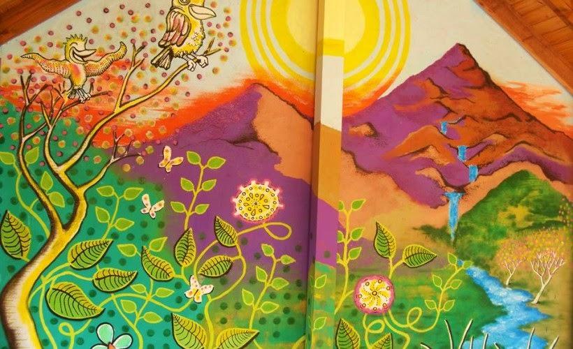 Intervencion Artistica Con Su Talento Buscan Embellecer Murales De