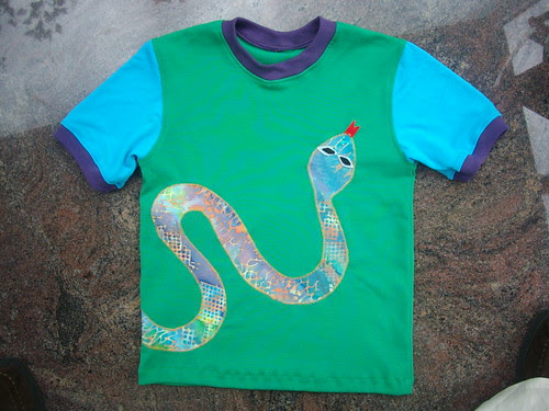 snake T, front. by oddwise