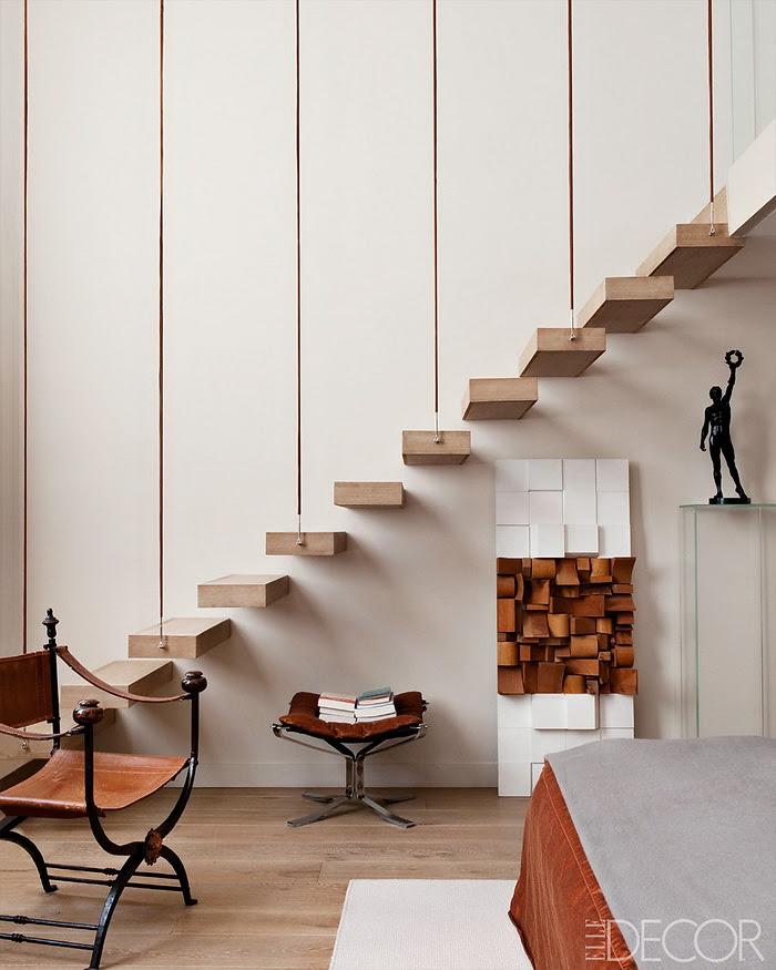 Elle Decor retornar à forma um apartamento em Paris moderna 8
