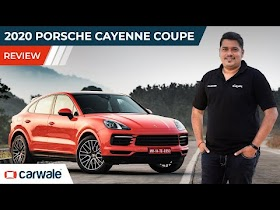 2020 Porsche Cayenne Coupe Review   Style With No Compromise on Substance   CarWale