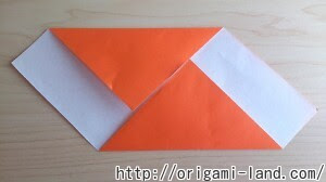 折り紙 お手紙便箋の折り方