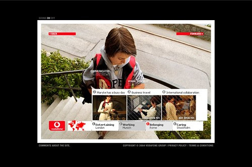 Vodafone Future Vision - great skills from back in the days