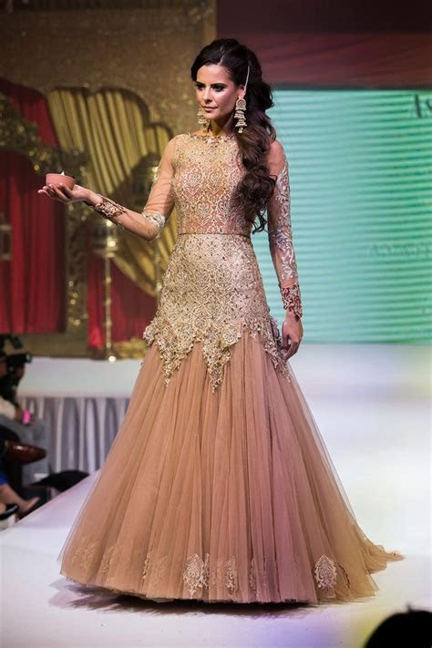 Asian Wedding Fashion Bridal Lengha Gown from Ayah Couture