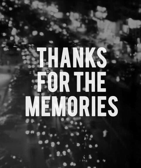 Thanks For The Memories Pictures Photos And Images For Facebook