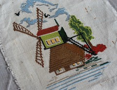 kruissteek molen