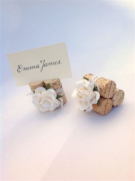 Rose Wedding Place Card Holder, Weddings Table Decor