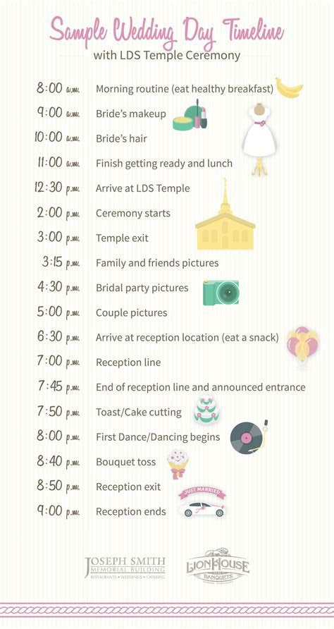 How to Build Your Wedding Day Timeline   Wedding Planning