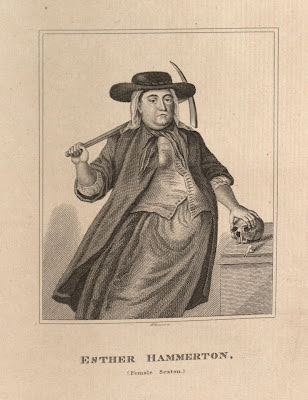 Esther Hamilton, female Sexton
