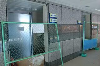 新烏日站2樓一角